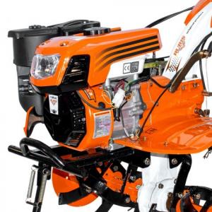 Motosapatoare RURIS 732ACC + roti cauciuc 5.00-8+rarita+plug+adaptor+dispozitiv scos cartofi+roti metalice 400 fara manicot+cultivator, 7322021acc2