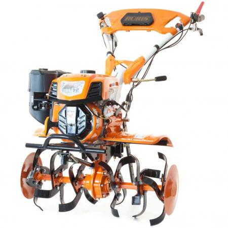 Motosapatoare RURIS 732ACC + roti cauciuc 5.00-8+rarita+plug+adaptor+dispozitiv scos cartofi+roti metalice 400 fara manicot+cultivator, 7322021acc1