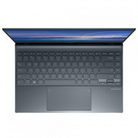 Ultrabook ASUS ZenBook 14 UX425EA-BM013T Intel Core (11th Gen) i5-1135G7 512GB SSD 8GB Intel Iris Xe FullHD Win10 Tast. ilum. Pine Grey1