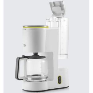 Cafetiera Beko Foodster FCM1321W, 1000W, capacitate 10 cesti, functie ajustare aroma, oprire automata, Alb1