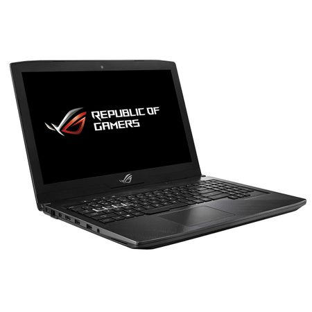 "Laptop Gaming ASUS ROG Strix Hero Edition GL503GE-EN027 cu procesor Intel® Core™ i7-8750H pana la 4.10 GHz, Coffee Lake, 15.6"", Full HD 120Hz 3ms, 16GB, 1TB + 128GB SSD, NVIDIA GeForce GTX 1050 Ti 4GB"