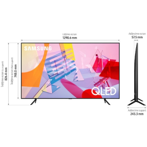 Televizor Samsung 58Q60T, 146 cm, Smart, 4K Ultra HD, QLED, Clasa A+6