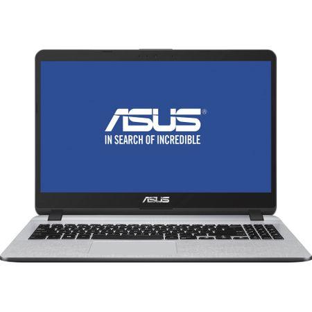 "Laptop ASUS X507UA-EJ782 cu procesor Intel® Core™ i5-8250U pana la 3.40 GHz, Kaby Lake R, 15.6"", Full HD, 8GB, 256GB SSD, Intel® UHD Graphics 620, Endless OS, Star Grey"