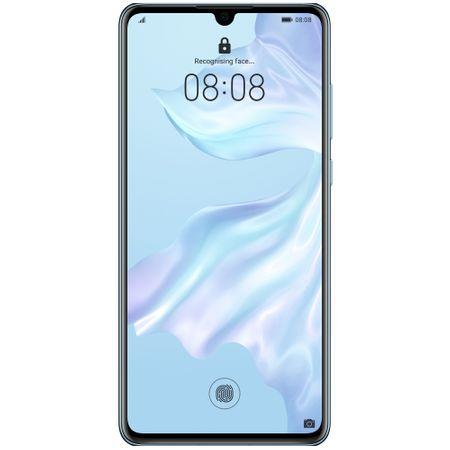 Telefon mobil Huawei P30, Dual SIM, 128GB, 6GB RAM, 4G, Breathing Crystal0