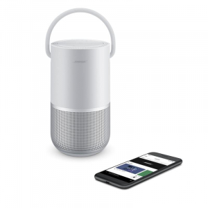 Boxa WiFi-Bluetooth Bose Home Speaker Portable, Silver, 829393-23001
