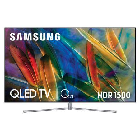 Televizor QLED Smart Samsung, 189 cm, 75Q7F, 4K Ultra HD (QE75Q7FAM)0