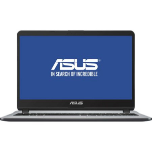 "Laptop ASUS X507UA-EJ407 cu procesor Intel® Core™ i3-7020U 2.30 GHz, Kaby Lake, 15.6"", Full HD, 4GB, 256GB SSD, Intel® HD Graphics 620, Endless OS, Star Grey2"