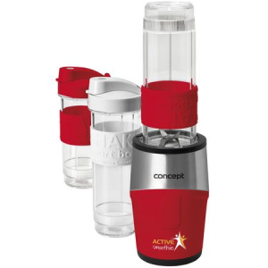 Mini Blender Concept, 500 W, 2 x 570 ml + 1 x 400 ml, recipiente tritan fara BPA0