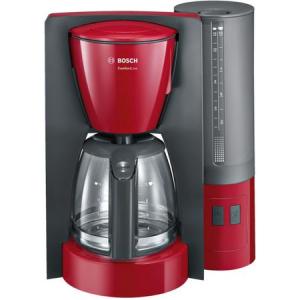 Cafetiera Bosch TKA6A044, 1.2 l, selector aroma, anti-picurare, oprire automata, program decalcifiere, Rosu0