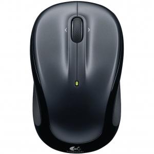 Mouse Logitech M325 Wireless, 1000 dpi, Negru/Gri2