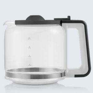 Cafetiera Beko Foodster FCM1321W, 1000W, capacitate 10 cesti, functie ajustare aroma, oprire automata, Alb2