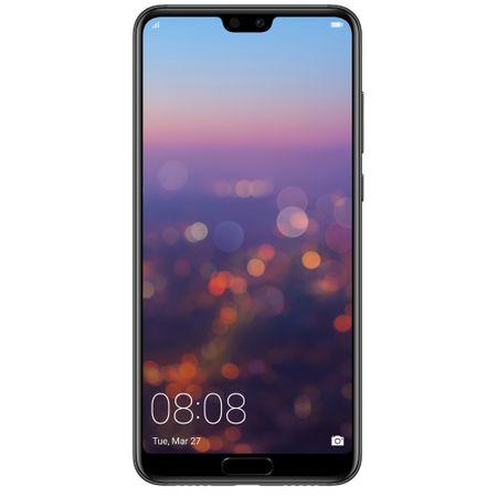 Telefon mobil Huawei P20 Pro, Dual SIM, 128GB, 6GB RAM, 4G, Black0