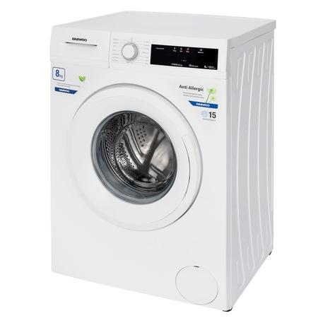 Masina de spalat rufe Daewoo DWD-FV5021-3, 8 kg, 1200 rpm, clasa energetica D, 15 programe, Alb [2]
