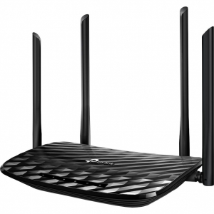 Router wireless TP-Link Archer C6, AC1200, Gigabit, Dual-Band, Negru1
