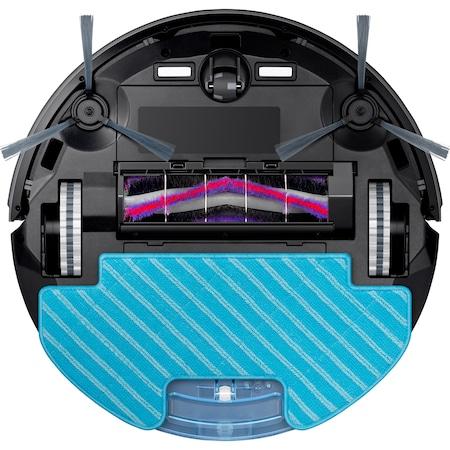 Resigilat - Aspirator robot SAMSUNG VR05R5050WK/OL, 55W, 0.2l, autonomie max 150 min, Wi-Fi, Functie mop, telecomanda, Negru [6]