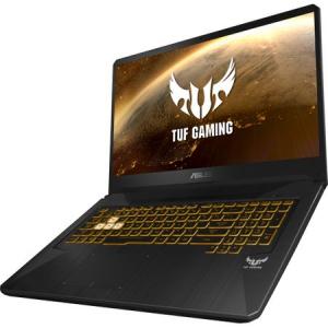 "Laptop Gaming ASUS TUF FX705GE-EW084cu procesor Intel® Core™ i7-8750H pana la 4.10 GHz, Coffee Lake, 17.3"", Full HD, 8GB, 1TB Hybrid FireCuda, NVIDIA GeForce GTX 1050 Ti 4GB, Free DOS, Gun Metal2"