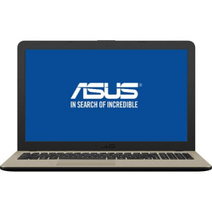 "Laptop ASUS VivoBook 15 X540MA-GO550 cu procesor Intel® Celeron® N4000 pana la 2.60 GHz, 15.6"", 4GB, 256GB SSD, Intel® UHD Graphics 600, Endless OS, Chocolate Black, No ODD0"