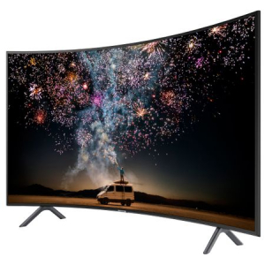 Televizor LED curbat Smart Samsung, 123 cm, 49RU7302, 4K Ultra HD4
