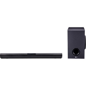 Soundbar LG SJ2, 160W, 2.1, Bluetooth, Negru0