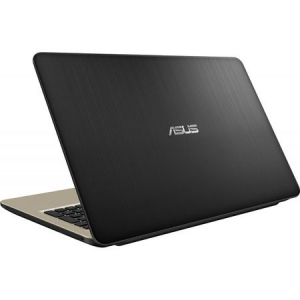 "Laptop ASUS X540MA-GO360 cu procesor Intel® Celeron® N4000 pana la 2.60 GHz, 15.6"", 4GB, 256GB SSD, DVD-RW, Intel® UHD Graphics 600, Endless OS, Chocolate Black"