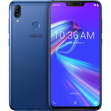 Telefon mobil Asus ZenFone Max M2 ZB633KL, Dual SIM, 32GB, 4G, Space blue0
