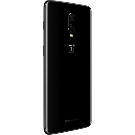 Telefon mobil OnePlus 6T, Dual SIM, 128GB, 8GB RAM, 4G, Mirror Black1