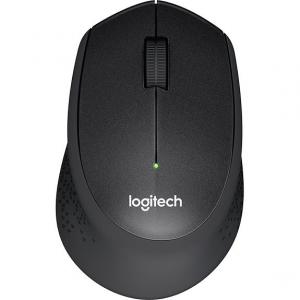 Mouse Logitech M330 Silent Plus, Wireless, Black0