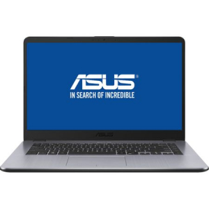 "Laptop ASUS A505ZA-EJ666 cu procesor AMD Ryzen™ 3 2300U pana la 3.40 GHz, 15.6"", Full HD, 4GB, 1TB, Radeon™ Vega 6 Graphics, Endless OS, Dark Grey"