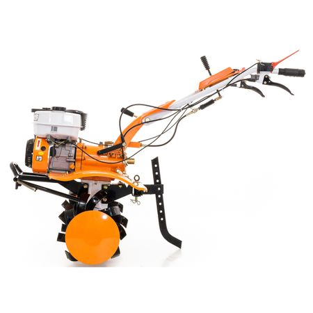 Motosapatoare Ruris 731ACC BONUS roti cauciuc, rarita, plug, adaptor, dispozitiv scos cartofi, roti metalice, cultivator