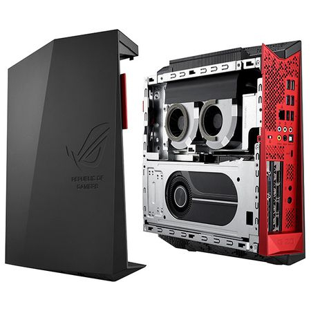 Sistem Desktop PC ASUS ROG G20CI cu procesor Intel® Core™ i7-7700 3.60GHz, Kaby Lake, 16GB, 1TB + 128GB SSD, DVD-RW, nVIDIA GeForce GTX 1070 8GB, Microsoft Windows 10 Home, Black
