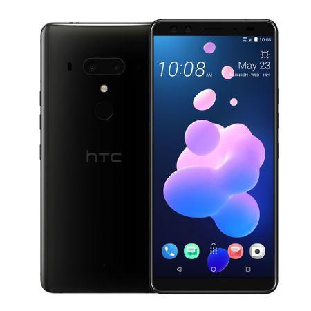 Telefon Mobil HTC U12 Plus Dual Sim 64GB Black + complet WOWFIXIT liquid screen protector1