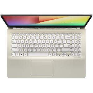 "Laptop ASUS VivoBook S15 S530UA-BQ057 cu procesor Intel® Core™ i5-8250U pana la 3.40 GHz, Kaby Lake R, 15.6"", Full HD, 8GB, 256GB SSD, Intel® UHD Graphics 620, Free DOS, Gold6"