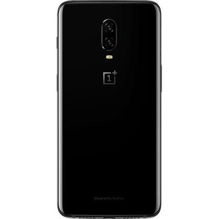 Telefon mobil OnePlus 6T, Dual SIM, 128GB, 8GB RAM, 4G, Mirror Black2