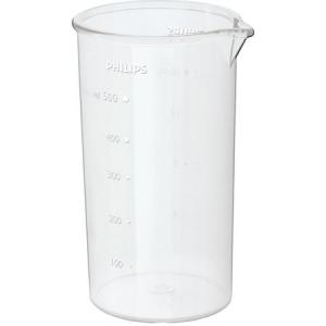 Mixer vertical Philips HR1604/00, 550 W, 1 viteza, 0.5 l, Alb2