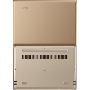 "Laptop ultraportabil Lenovo IdeaPad 520S-14IKB cu procesor Intel® Core™ i3-7100U 2.30 GHz, Kaby Lake, 14"", 4GB, 1TB, Intel HD Graphics, Microsoft Windows 10, Golden4"