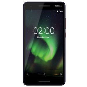 Resigilat-Telefon mobil Nokia 2.1 (2018), Dual SIM, 8GB, 4G, Blue Copper (11E2MX01B03)
