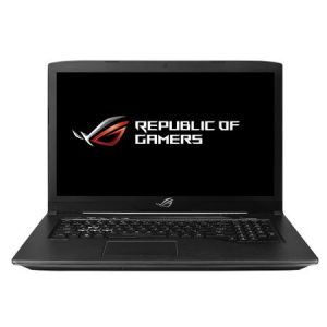 "Laptop Gaming ASUS ROG GL703GE-GC205 cu procesor Intel® Core™ i7-8750H pana la 4.10 GHz, Coffee Lake, 17.3"", Full HD, 8GB, 256GB SSD, NVIDIA GeForce 1050 Ti 4GB, Free DOS, Black"