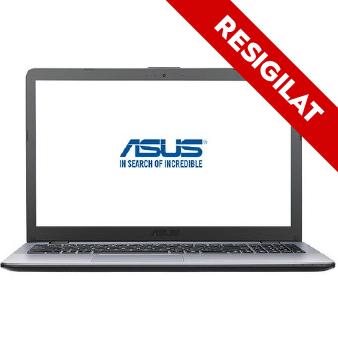 "Resigilate-Laptop ASUS VivoBook Max F542UN-DM127 cu procesor Intel® Core™ i5-8250U pana la 3.40 GHz, Kaby Lake R, 15.6"", Full HD, 8GB, 256GB SSD, NVIDIA GeForce MX150 4GB, Endless OS, Dark Grey0"