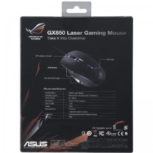 Mouse gaming ASUS GX850, USB, 5000 DPI, Negru5