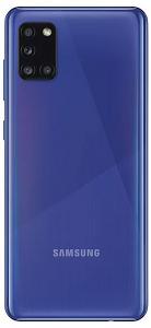 Telefon mobil Samsung Galaxy A31 (A315FD), Dual SIM, 128GB, 4GB RAM, 4G, Blue, A315GZBUEUE1