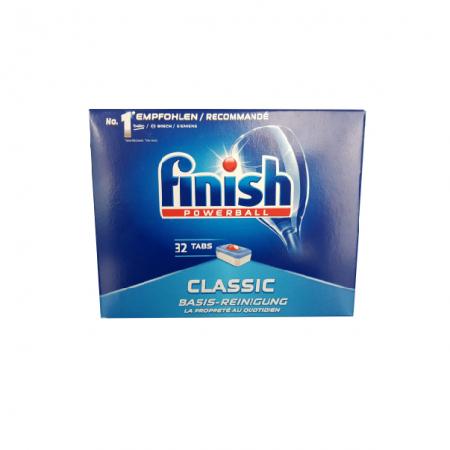 Tablete Finish Classic pentru masina de spalat vase 32 buc