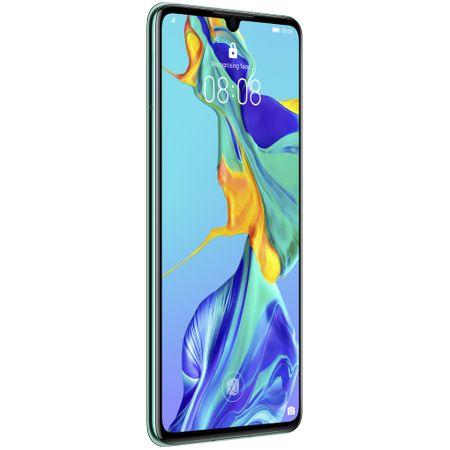 Telefon mobil Huawei P30, Dual SIM, 128GB, 6GB RAM, 4G, Aurora Blue1