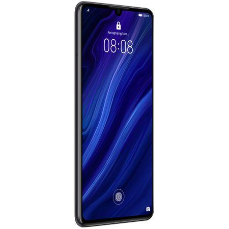 Telefon mobil Huawei P30, Dual SIM, 128GB, 6GB RAM, 4G, Midnight Black1