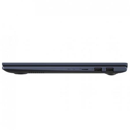 Ultrabook ASUS VivoBook X413EA-EB380, Intel Core i7-1165G7, 14inch, RAM 8GB, SSD 512GB, Intel Iris Xe Graphics, No OS, Bespoke Black [14]