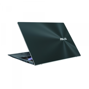 Ultrabook ASUS ZenBook Duo 14 UX482EA-HY026R, Intel Core i5-1135G7, 14inch Touch, RAM 8GB, SSD 1TB, Intel Iris Xe Graphics, Windows 10 Pro, Celestial Blue8