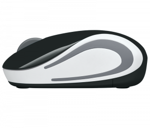 Mouse Wireless Logitech M187, USB, Negru, 910-0027312