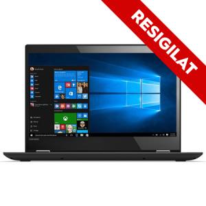 "Resigilat-Laptop 2 in 1 Lenovo Yoga 520-14IKB cu procesor Intel® Core™ i3-7130U 2.70 GHz, Kaby Lake, 14"", Full HD, IPS, Touch, 8GB, 1TB + 128GB SSD, Intel HD Graphics 620, Microsoft Windows 10, ONYX B0"