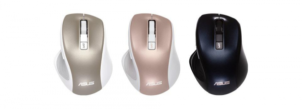 AS MOUSE MW202 WIRELESS GOLD 2