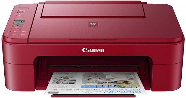 CANON TS3352RE A4 COLOR INKJET MFP RED 0
