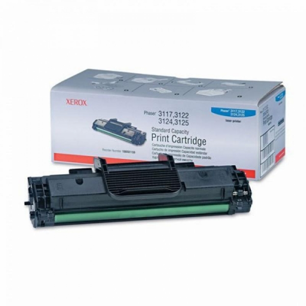 XEROX 106R01159 BLACK TONER CARTRIDGE 0